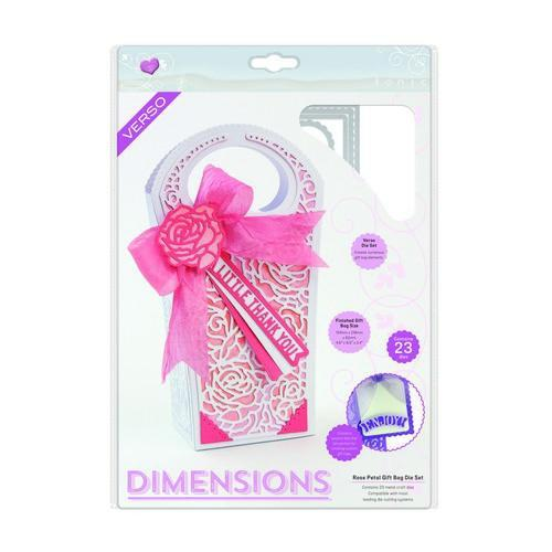 Tonic Studios Die Decorative Gift Bags - Rose Petal 2047e