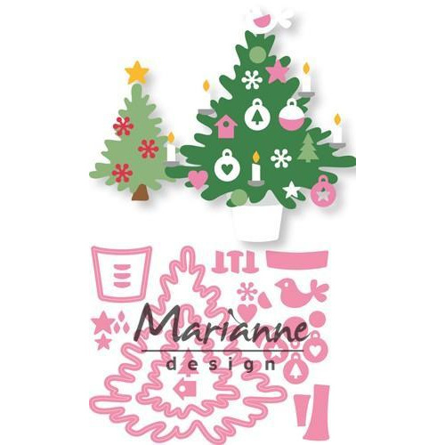 Marianne D Collectable Eline`s Kerstboom COL1459 15 x 21 cm (09-18)