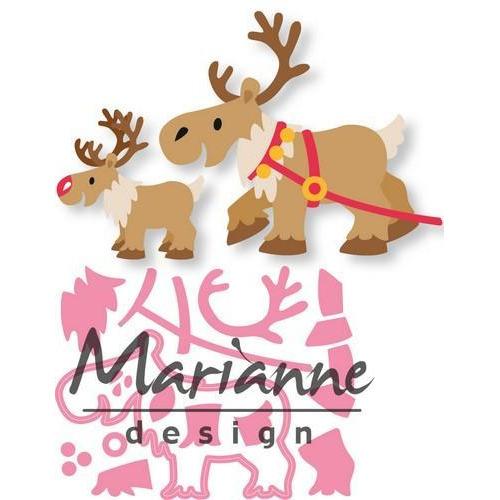 Marianne D Collectable Eline`s Rendier COL1461 12,5 x 15,5 cm  (09-18)