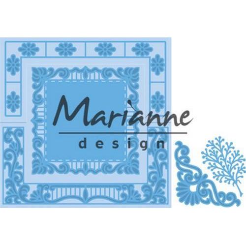 Marianne D Creatable Anja`s Vierkant LR0553 16 x 18,5 cm (09-18)