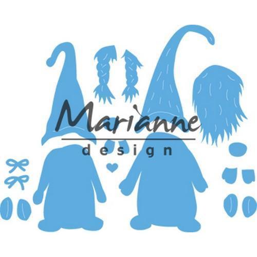 Marianne D Creatable Tomte Kabouter LR0554 9,5 x 16 cm (09-18)