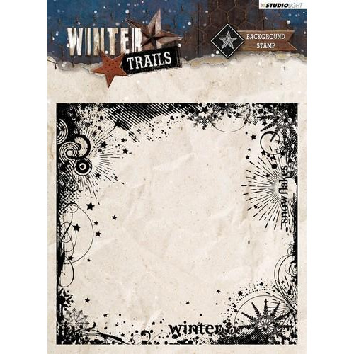 Studio Light Clearstempel 14x14 Winter Trails nr 305 STAMPWT305 (08-18)