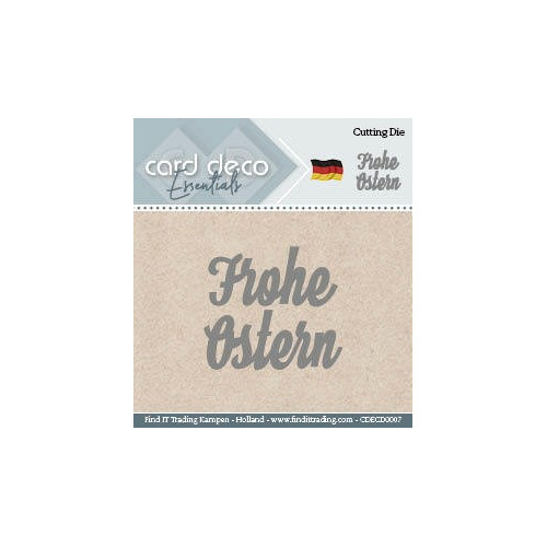 Card Deco Cutting Dies- Frohe Ostern