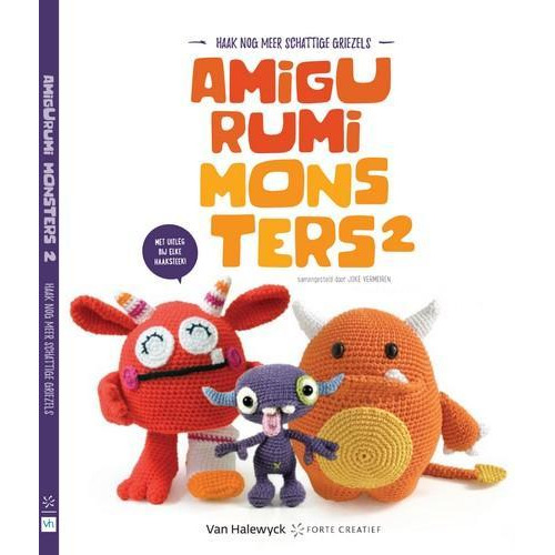 Forte Boek - Amigurumi monsters 2 joke vermeiren (09-18)