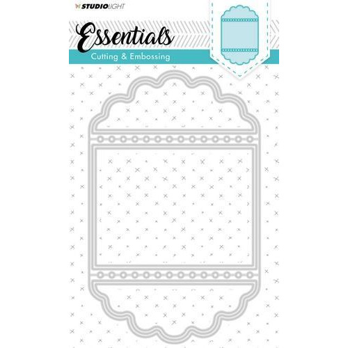 Studio Light Embossing Die Cut Stencil Essentials Nr.115 STENCILSL115 (09-18)