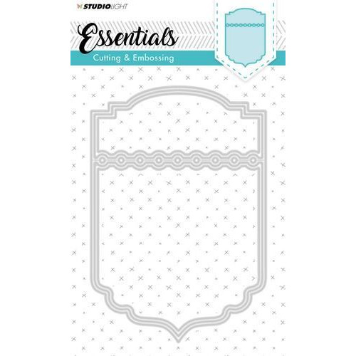 Studio Light Embossing Die Cut Stencil Essentials Nr.118 STENCILSL118 (09-18)