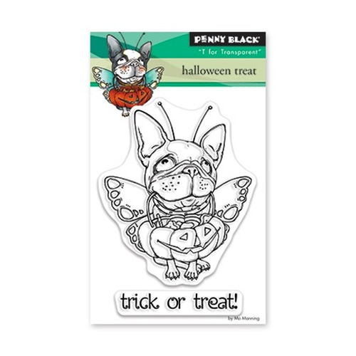 Clear Set Stamp Halloween Treat