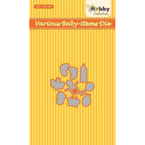 Nellies Choice Hobby Solution Die Baby-serie Baby-artikelen HSDJ031 49x49mm (8-18)