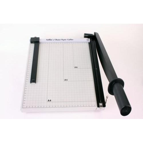 Nellie's Choice XL metalen Papier snijder met schuif 30cm PAT001 30cm (8-18)