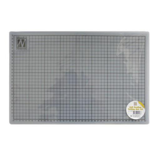Nellie's Choice Transparente snijmat self healing A3 MAT-A2TR 30x45cm (8-18)