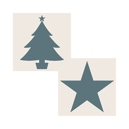 Sentimentally Yours Star & Christmas Tree