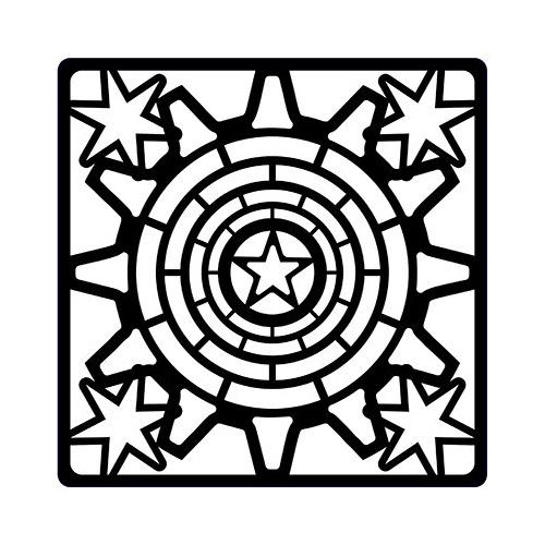 Steampunk Stencils Steampunk Stars