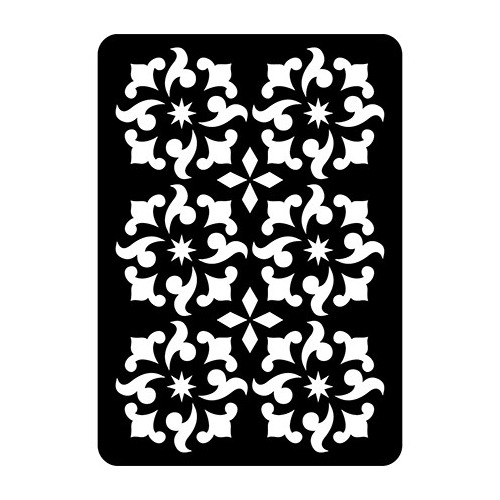 CE Mini Stencils Ornamental Holly