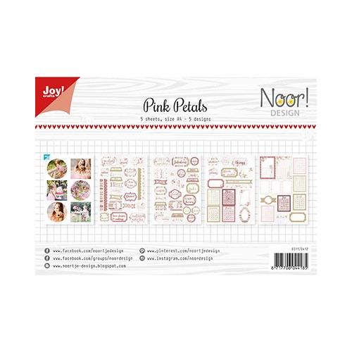 Labelvellen/knipvel - Noor - Pink Petals