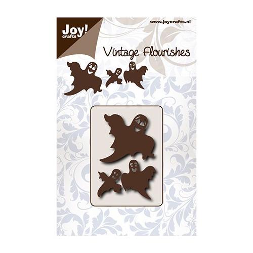 Cutting Vintage Flourishes Snijstencil - Noor - VF - Spookjes