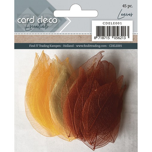 Card Deco Essentials - Dryed Leaves