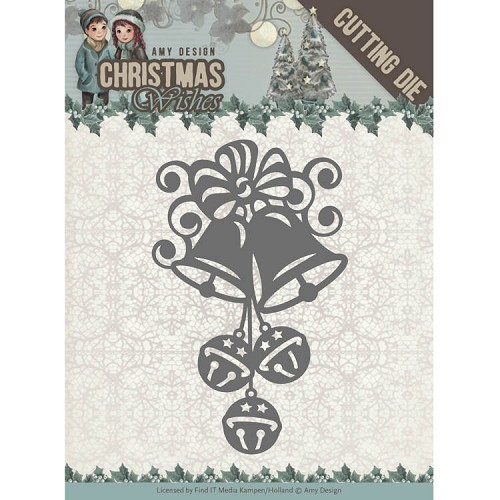 Dies - Amy Design - Christmas Wishes - Christmas Bells