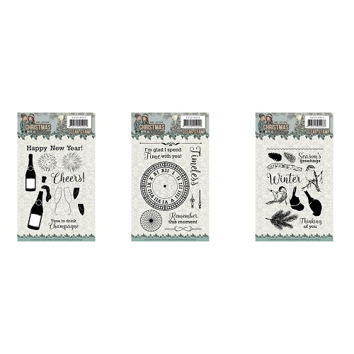 Amy Design Christmas Wishes stempel set