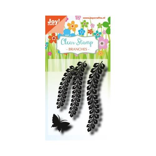 Clearstempel - LH - Ranken met vlinder