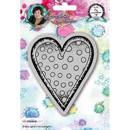 Studio Light Cling Stamp Hearts Art By Marlene 2.0 nr.22 STAMPBM22 (09-18)