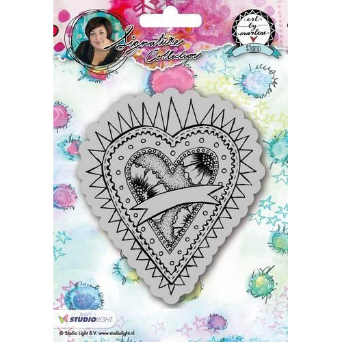 Studio Light Cling Stamp Hearts Art By Marlene 2.0 nr.23 STAMPBM23 (09-18)