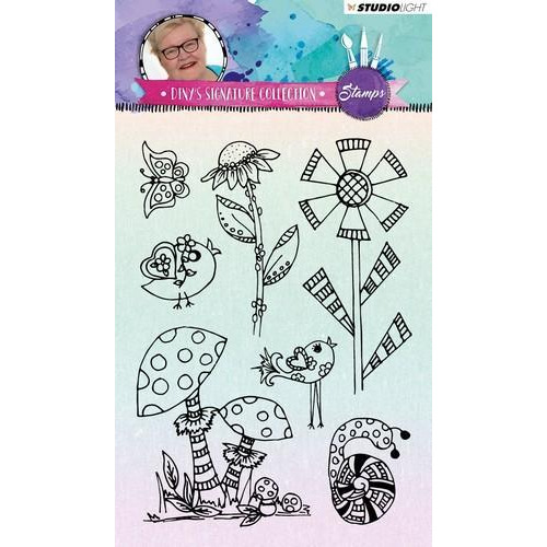 Studio Light Stamp A6 Diny's Signature Collection nr.02 STAMPDS02 (09-18)