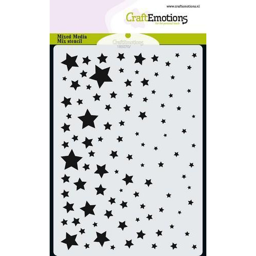 CraftEmotions Mask stencil sterrenhemel A6 A6 (09-18)