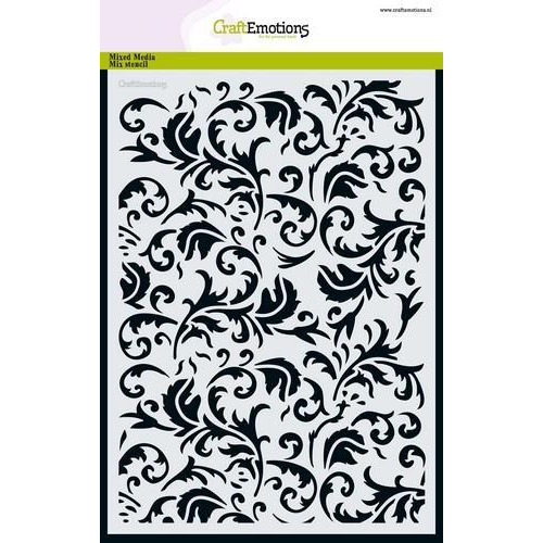 CraftEmotions Mask stencil - barok A5 A5 (09-18)
