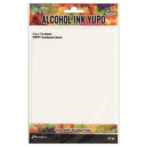 Ranger Alcohol Ink Yupo Paper Translucent 10 vel TAC49722
