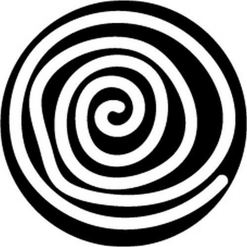 Pronty Foam stamps 80mm Spiral 494.001.011 (09-18)