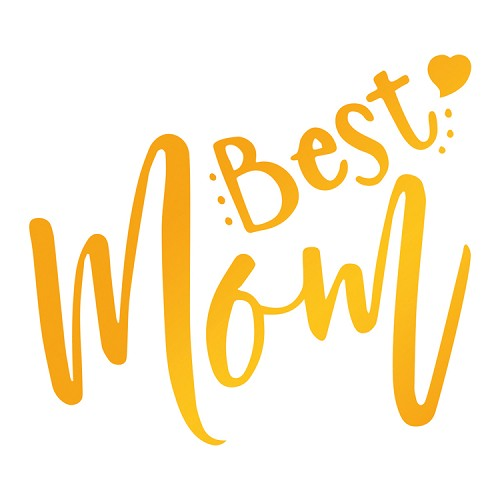 Best Mom Hotfoil Stamp (56 x 49mm | 2 x 1.9in)