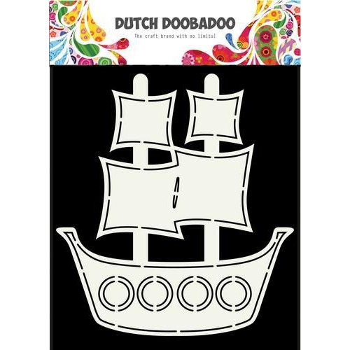 Dutch Doobadoo Dutch Card piratenschip Ship A5 470.713.685 (09-18)