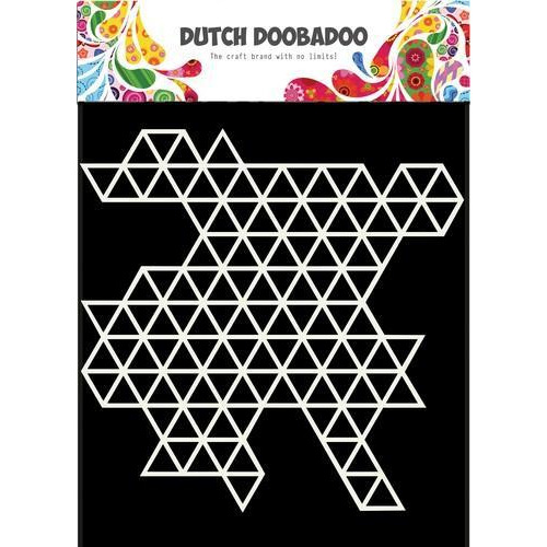 Dutch Doobadoo Dutch Mask Art 15x15cm driehoek patroon 470.715.612 (09-18)