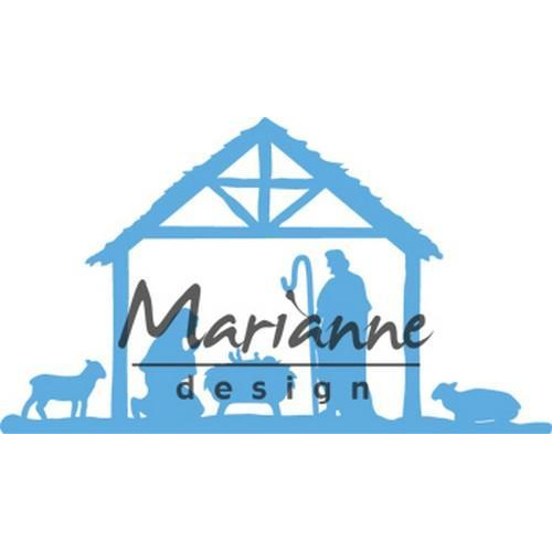 Marianne D Creatable Kerststal LR0559103 x 59 mm (10-18)