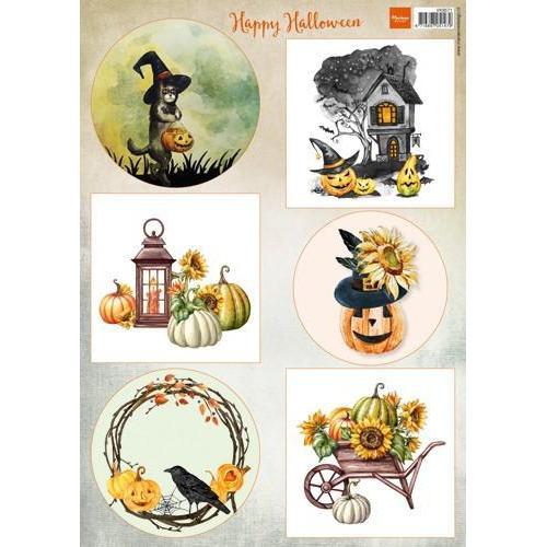 Marianne D Decoupage Happy Halloween VK9571A4 (10-18)