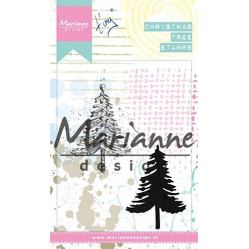 Marianne D Cling Stamps Tiny`s kerstboom MM162590 x 110 mm (10-18)