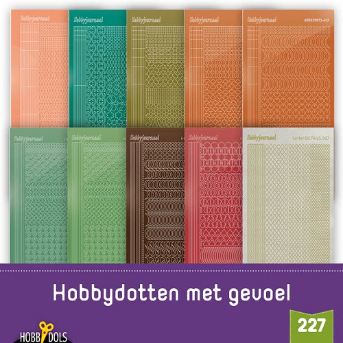 Stickerset Hobbydols 227
