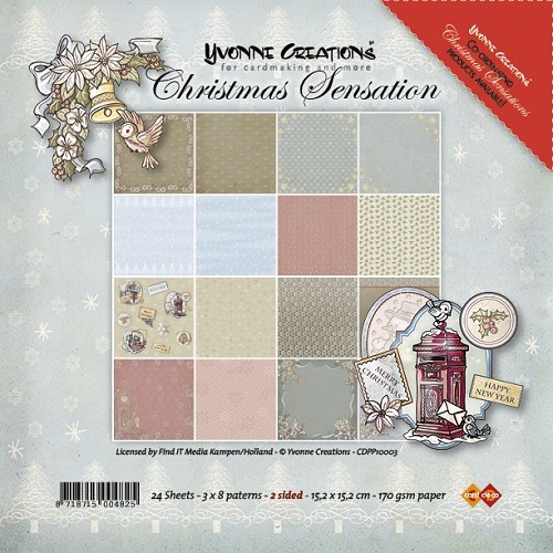 Paperpack - Yvonne Creations - Christmas Sensation