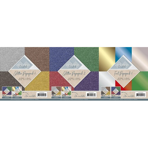 Card Deco Essentials paperpack set