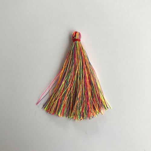 Kwastjes-tassel 65 mm neonmix 12444-4401