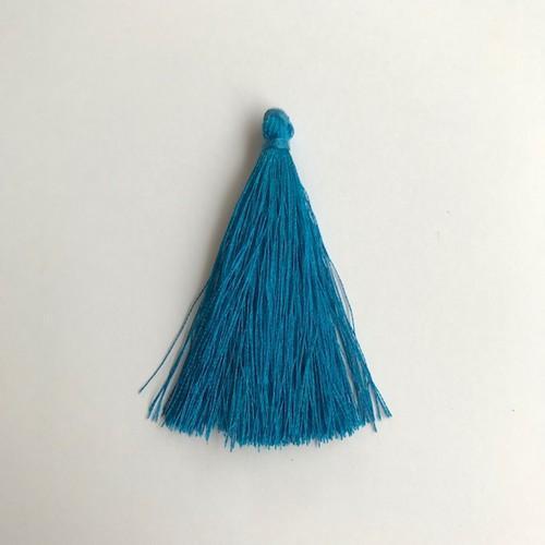 Kwastjes-tassel 65 mm blauw 12444-4404