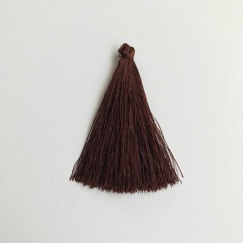 Kwastjes-tassel 65 mm bruin 12444-4408