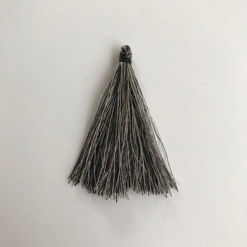 Kwastjes-tassel 65 mm grijs mix 12444-4413