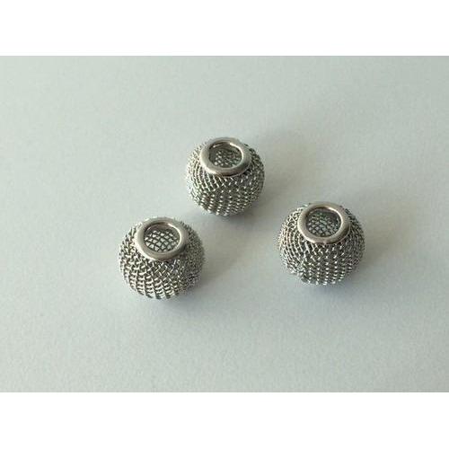 Netkralen platinum 12x10 mm (gat 3,5 mm) 3st 12340-4002