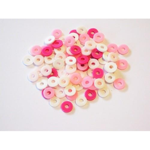 Kralen Katsuki Mix 6mm Pink candy +/- 100 st 12428-2803