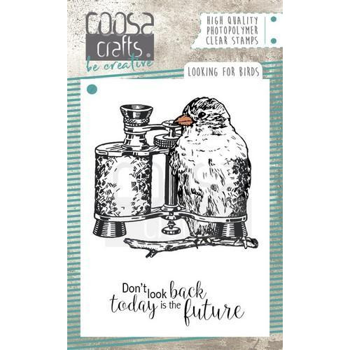 COOSA Crafts clearstamps A7 - Looking for Birds COC-051 (09-18)