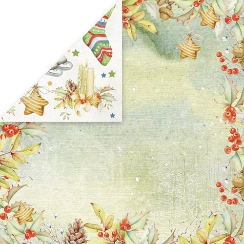 "Craft&You Winter Dream Scrapbooking single paper 12""x12"" CP-WDR02 (09-18)"