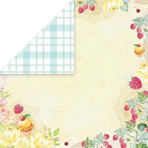 "Craft&You Sweet Dessert Scrapbooking single paper 12""x12"" CP-SD03 (09-18)"