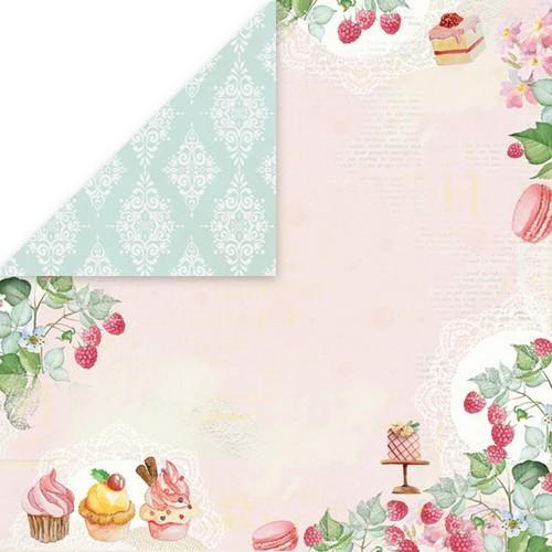 "Craft&You Sweet Dessert Scrapbooking single paper 12""x12"" CP-SD06 (09-18)"