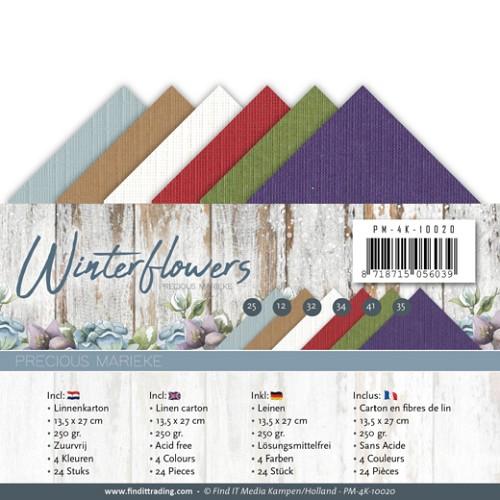 Linnenpakket - 4K - Precious Marieke - Winter Flowers